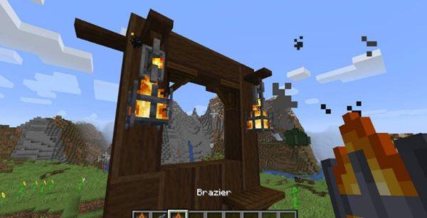 Minecraft декор
