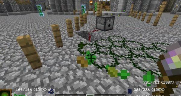 Minecraft магия мод