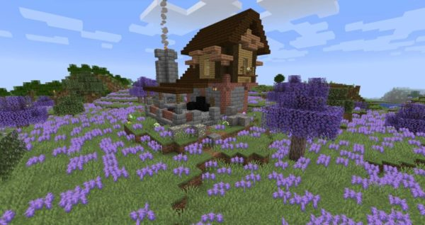 Minecraft постройки