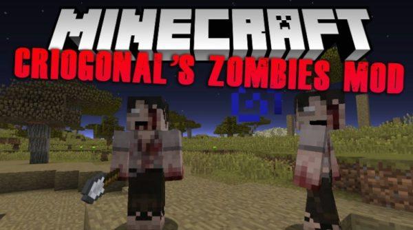 Мод на новых зомби для Майнкрафт 1.12.2