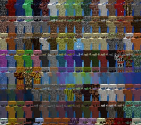 Block Armor Мод 1.16.5/1.12.2 (Крафт брони из любого блока)