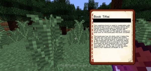 Book Display Mod 1.16.5 / 1.12.2 (чтение книг во время игры)