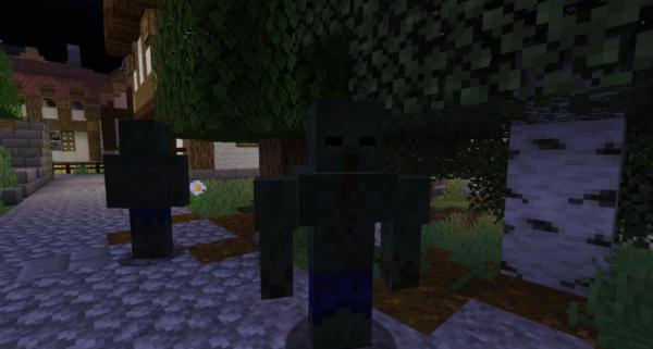 Zombie Extreme Мод 1.16.5 (Новые опасные зомби, пушки, оружие)