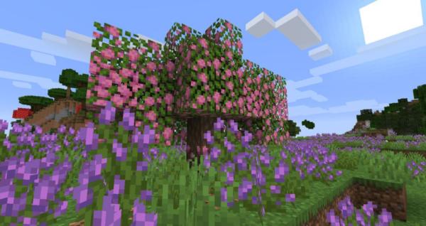 Abundance мод Майнкрафт 1.16.5 (цветы, деревья)