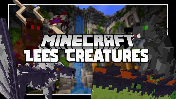 Lee's Creatures мод 1.16.5 (Существа, броня)