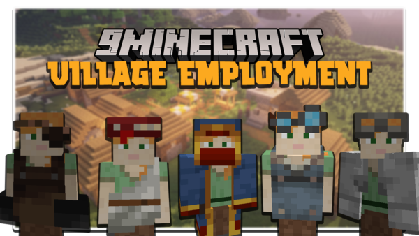 Village Employment мод 1.16.5 (Карьера, работа)