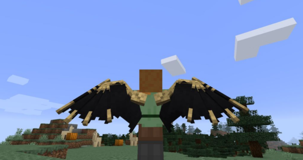Новые крылья мод Майнкрафт 1.16.5 (Элитры)