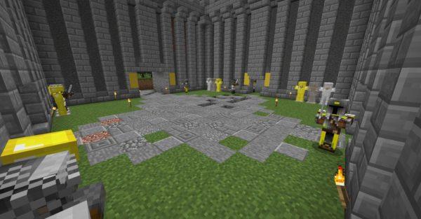 MedievalCraft мод для Майнкрафт 1.16.5 / 1.12.2 (Рыцари, замки, фракции)