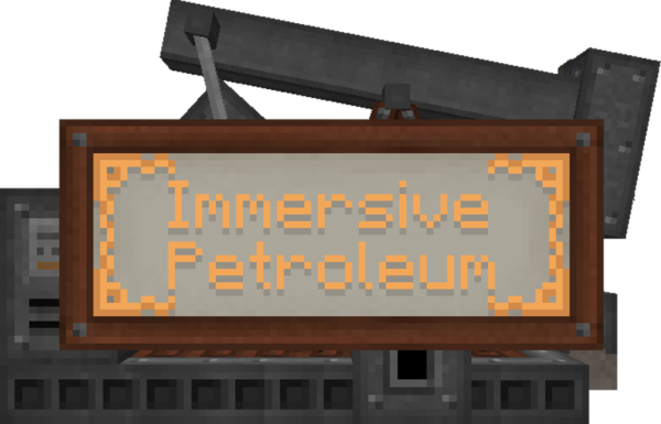 Immersive Petroleum Мод 1.16.5/1.12.2 (Нефть, топливо)