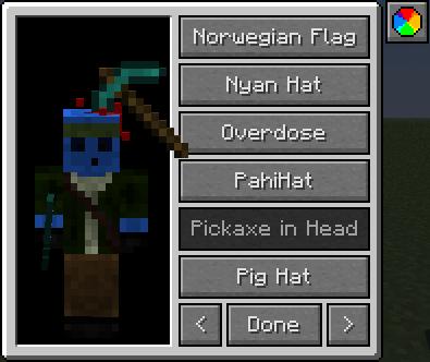 iChun's мод на шляпы 1.16.5 / 1.12.2
