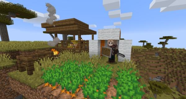 Stumble Upon Campfires мод 1.16.5 (Структуры и сущности)