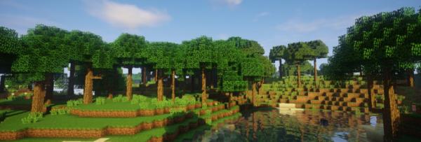 Dynamic Trees мод 1.16.5 (Изменение естественного роста деревьев)