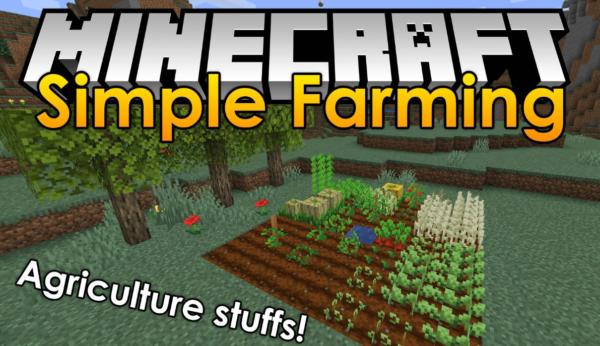 Simple Farming мод 1.16.5 (больше фруктов, овощей и еды)