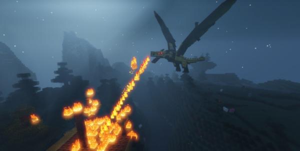 Лёд и огонь мод 1.16.5 (Драконы)