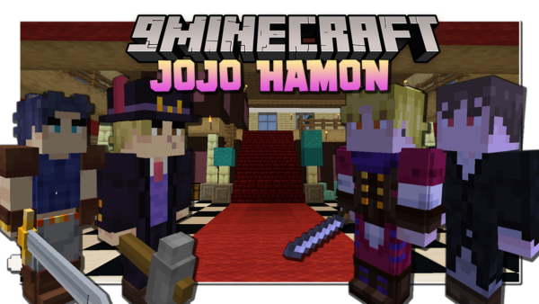 Jojo Hamon мод 1.16.5 (Джоджо, Аниме)
