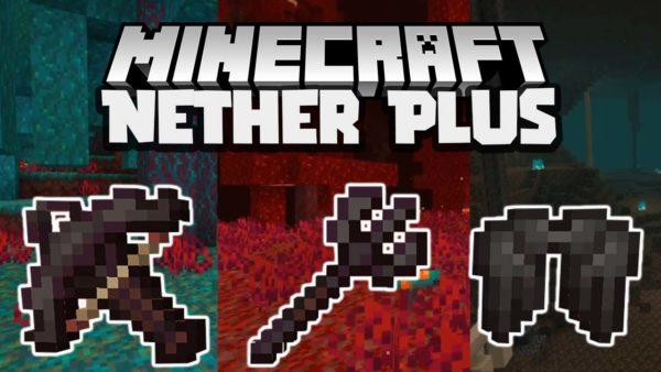 Nether Plus Mod 1.16.5 (Нетеритовые артефакты)