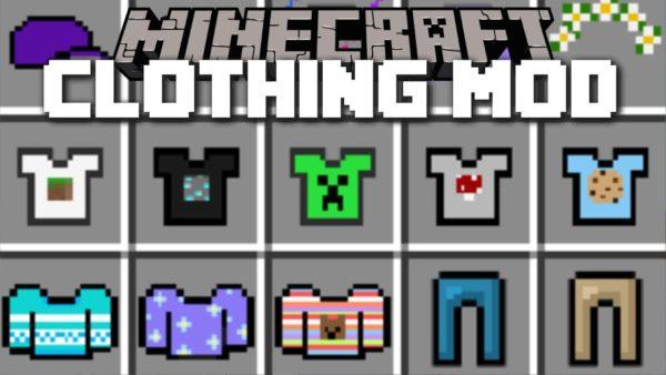 Мод на Майнкрафт на одежду 1.12.2