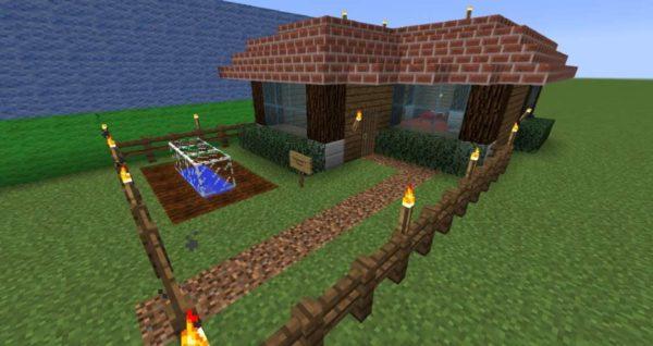 готовые постройки майнкрафт