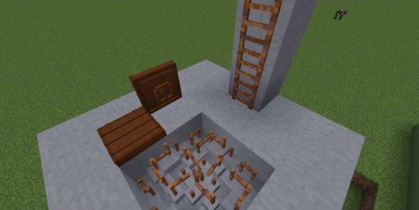 лаборатория x-18 Minecraft