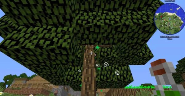 деревья в Minecraft 1.12.2