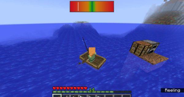 Minecraft 1.12.2 на рыбалку