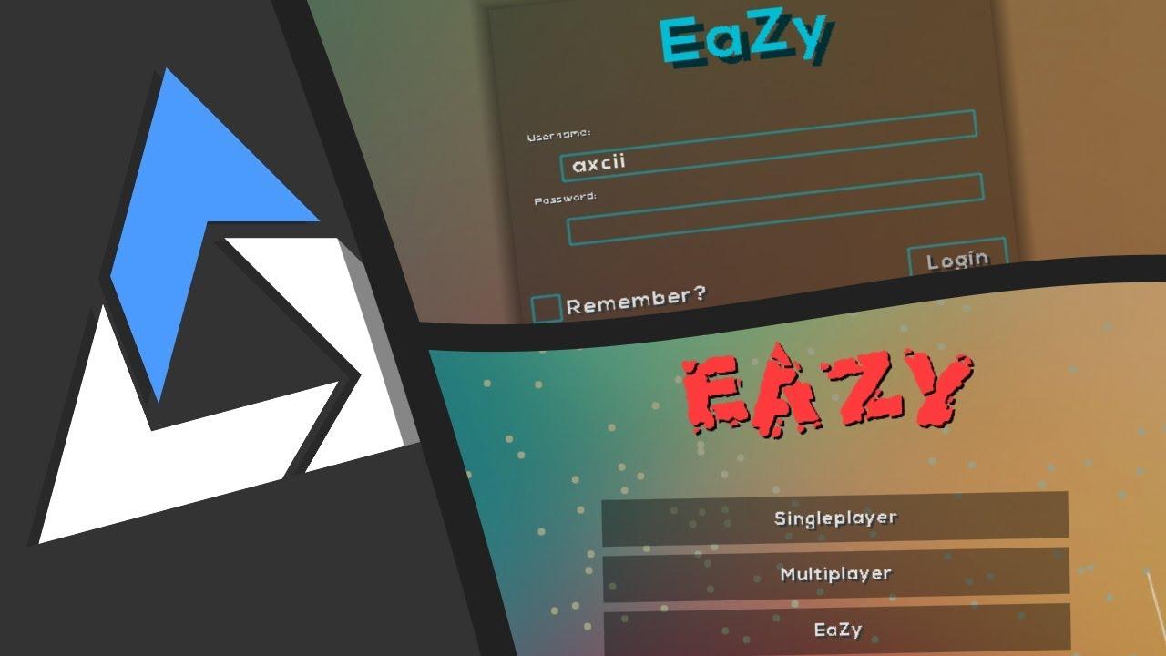 EaZy чит клиент Майнкрафт 1.16.4