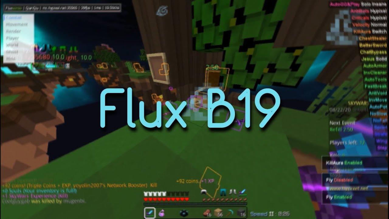 Flux b19 скачать для Майнкрафт