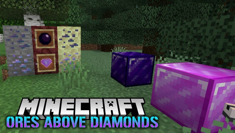 Ores Above Diamonds мод