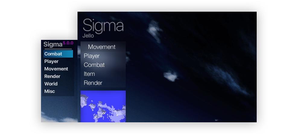 Sigma чит Майнкрафт 1.12.2