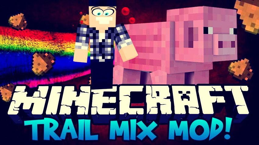 trail mix mod майнкрафт свинья