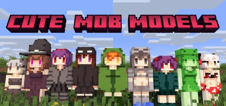 Cute-Mob-Models-Remake-Mod-1.12