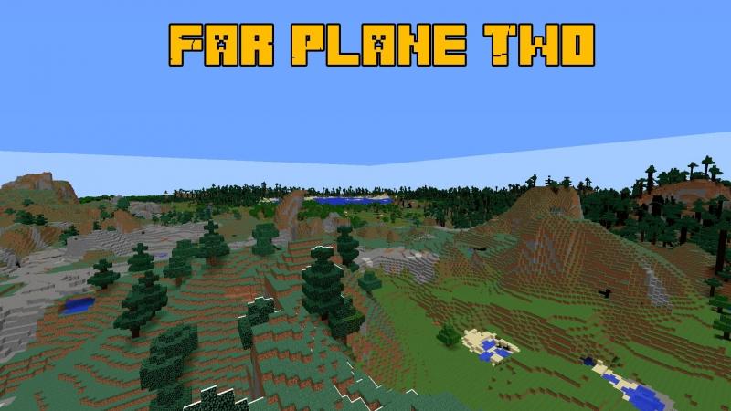 FarPlaneTwo - LOD для Майнкрафт 1.12.2 / Большая прорисовка мира