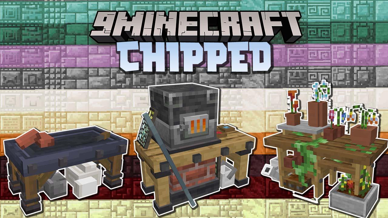 Chipped мод 1.16.5 (5000 Детализированных блоков)
