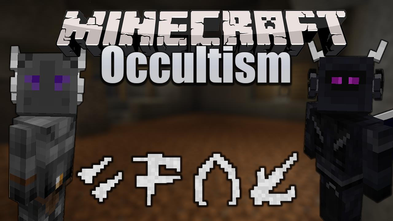 Occultism мод 1.16.5 (Ритуалы, миньоны и оккультизм)