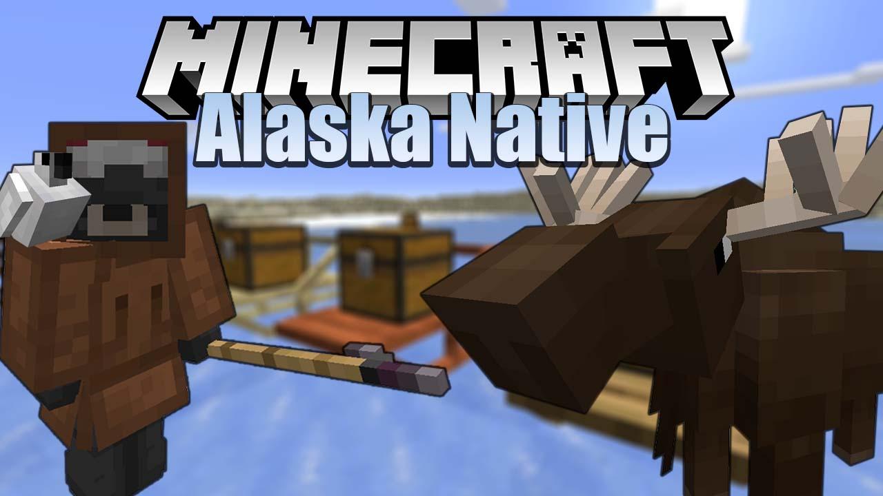 Alaska Native мод 1.16.5 (Обновление снежного биома)