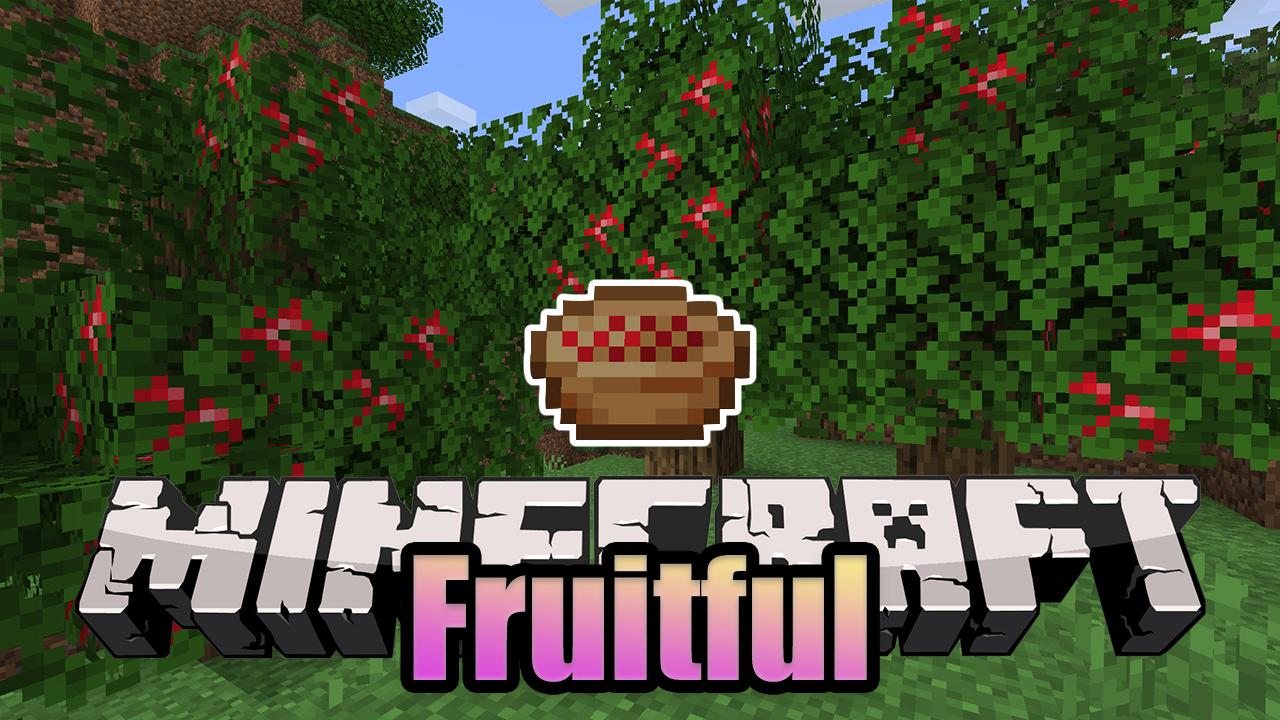 Fruitful мод 1.16.5 (Яблоки на деревьях)
