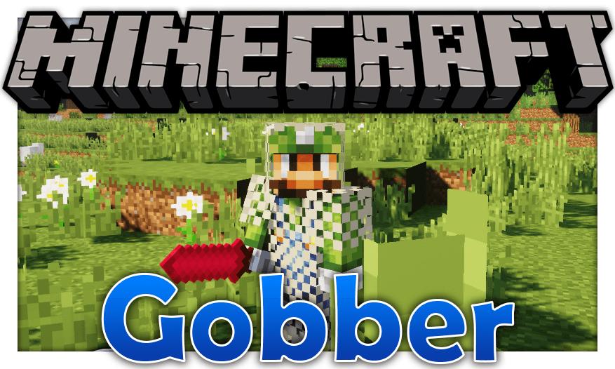 Gobber мод 1.17 (Много новых предметов)