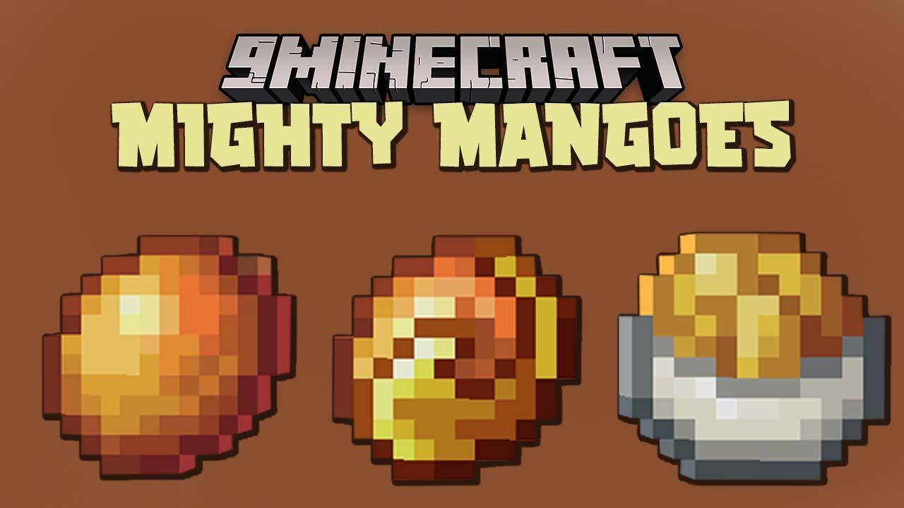 Манго мод Майнкрафт 1.16.5 (Еда)