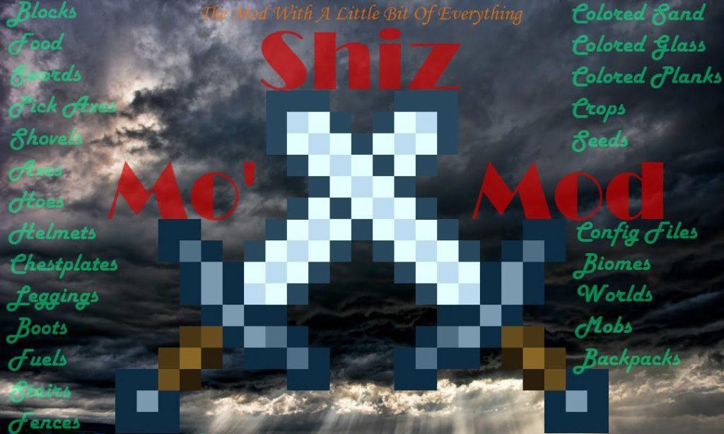 Mo 'Shiz мод 1.16.5 (Всего понемногу)