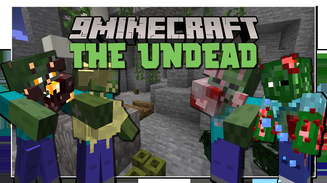 The Undead Мод 1.16.5 (Зомби)