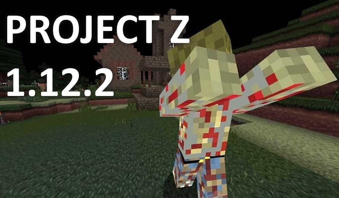 minecraft зомби 1.12.2