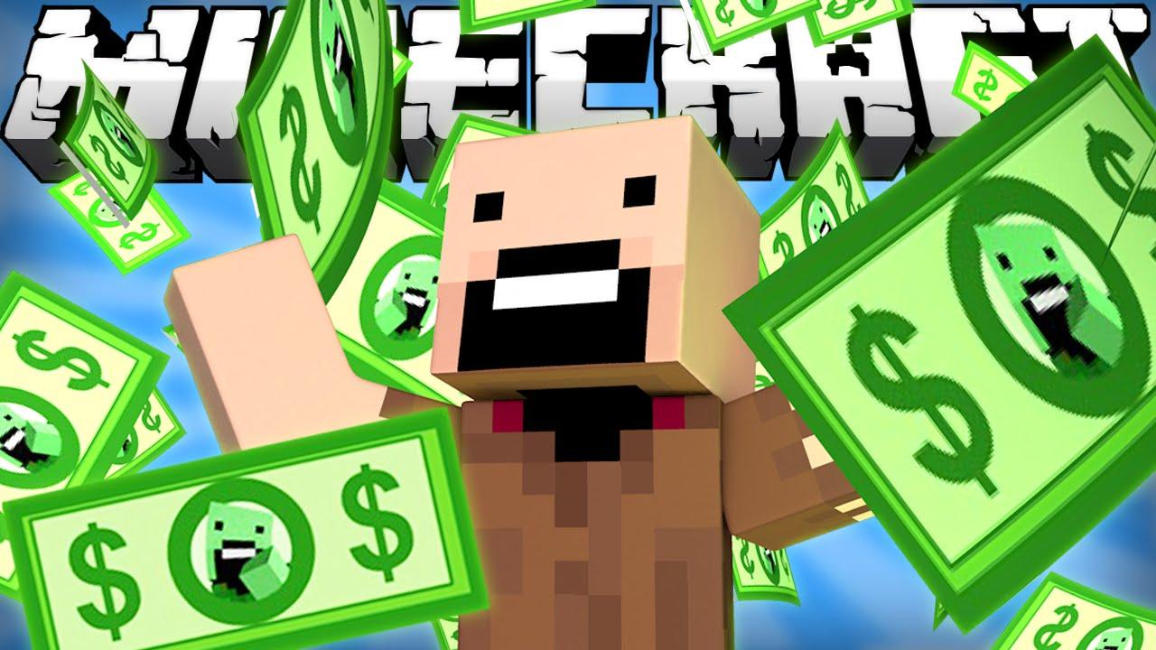 Мод на деньги в Майнкрафт