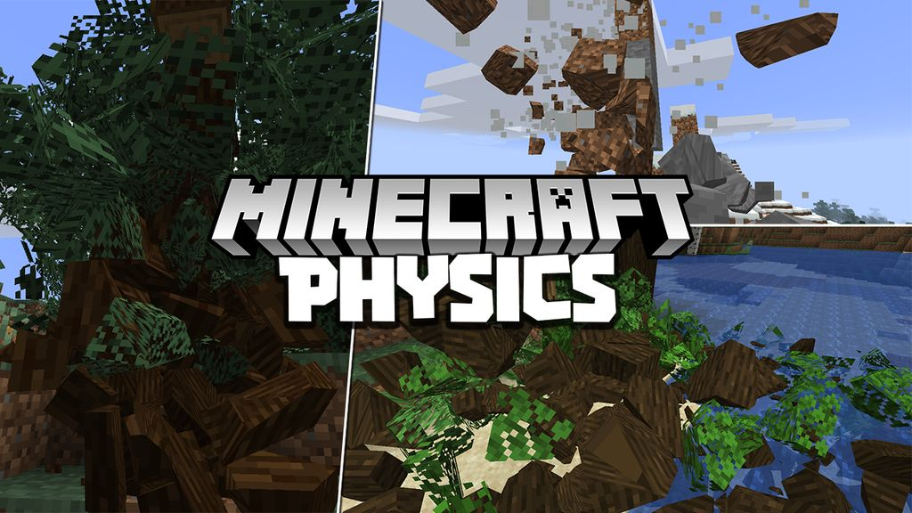 Физика в Майнкрафт мод