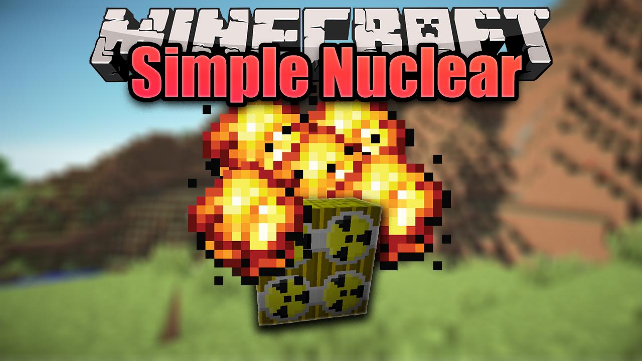 мод на майнкрафт ядерная бомба