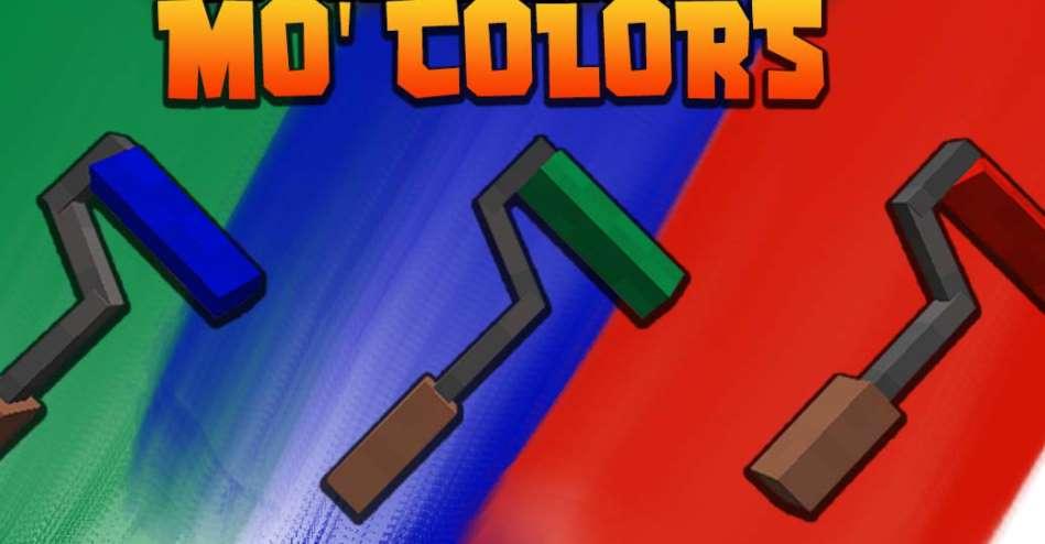 мод на рисование Mo' Colors