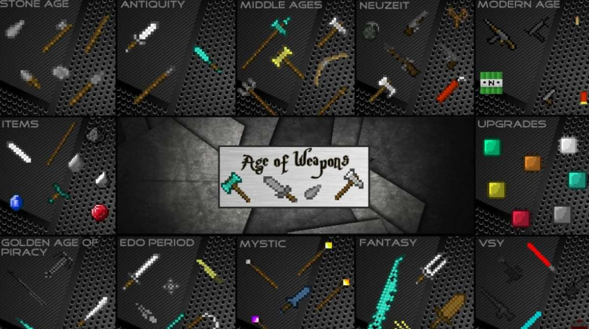новое оружие и броня