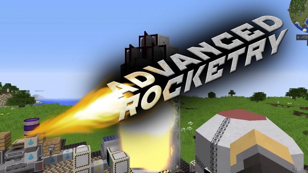 Мод на ракету в Майнкрафт 1.12.2