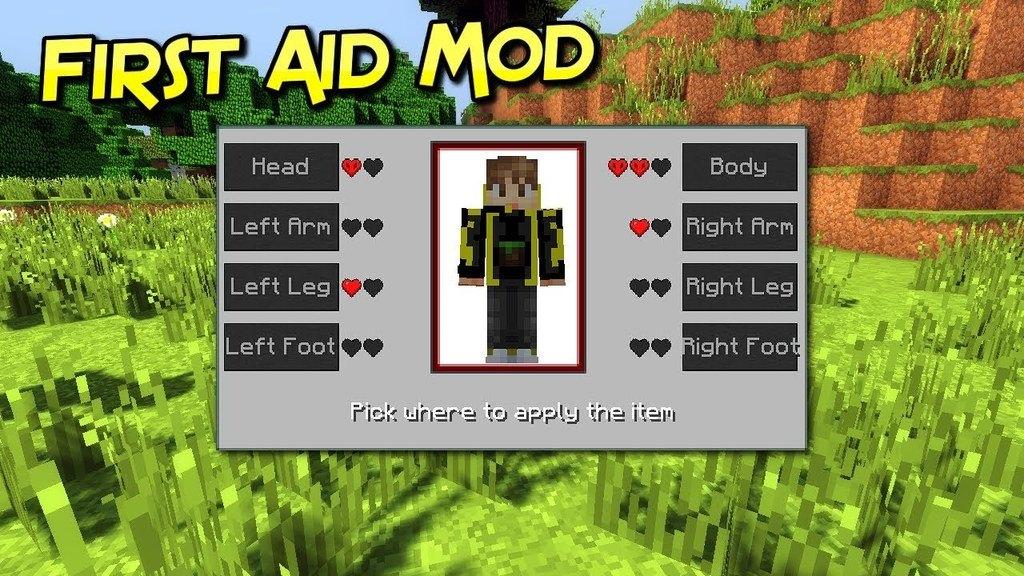 First Aid Mod Minecraft 1.17.1